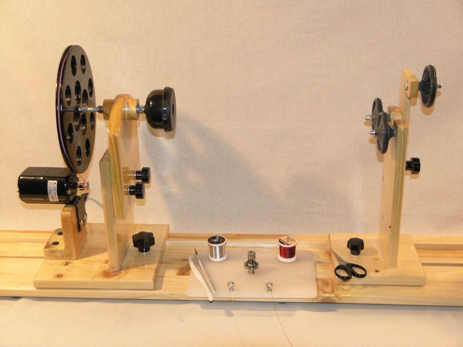 Handmade power rod wrapper equipment for Fishing rod building tools
