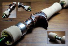 Wood Custom reel seat