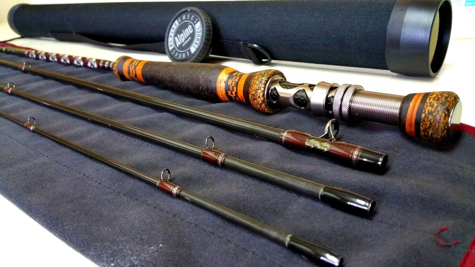 9'0 5wt 4pc fly rod