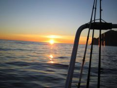 Sunset in Northnorway