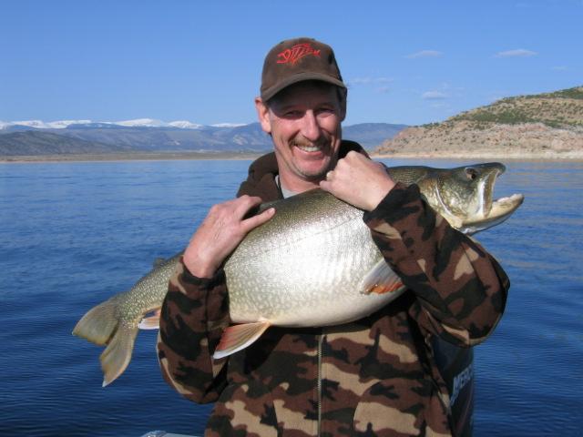 30 lb. lake trout