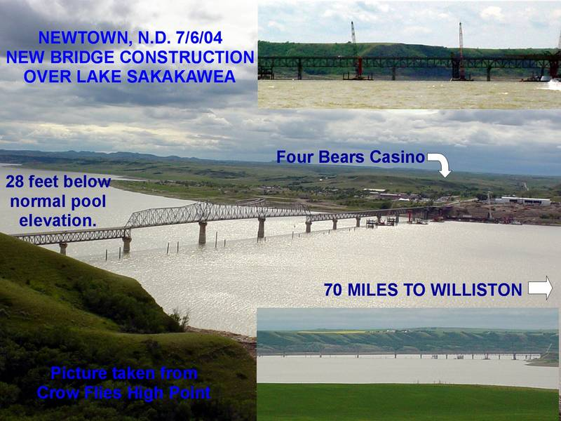 Lake sakakawea new bridge freshwater fishing for Lake sakakawea fishing report