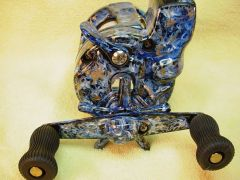 Marbled Reel; Blue 'n' Gold