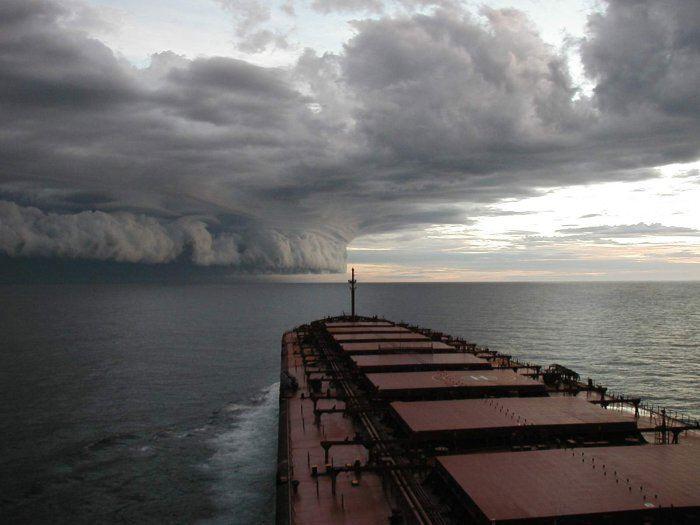 Isabel before landfall
