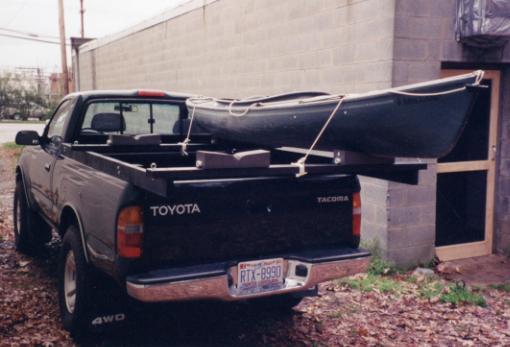 Kayak Rack for Pickup